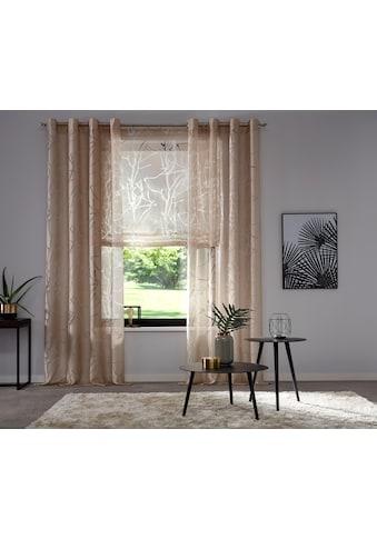my home Raffrollo »Anna«, mit Klettband kaufen
