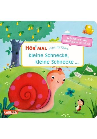 Buch »Hör mal (Soundbuch): Verse für Kleine: Kleine Schnecke, kleine Schnecke ... - ab... kaufen