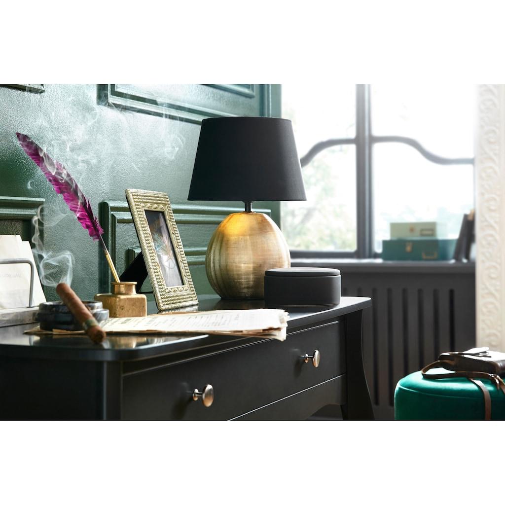 TRIO Leuchten Tischleuchte »Luxor«, E27, Schnurschalter, Leuchtmittel tauschbar