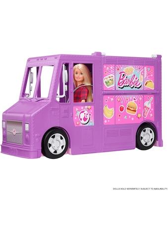 Barbie Spielzeug-Bus »Food-Truck (aufklappbar)«, inkl. 30 Zubehörteile kaufen