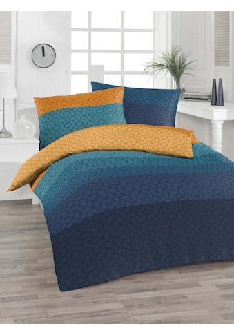 Florella Bettwäsche »Renforcé Bettwäsche Kiko«, Moderner Farbverlauf kaufen