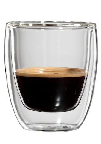 Bloomix Espressoglas »Roma«, (Set, 4 tlg.), Doppelwandig, 4-teilig kaufen