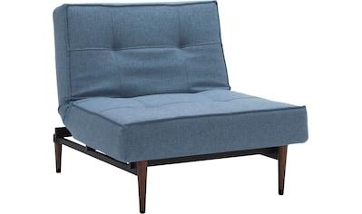 INNOVATION LIVING ™ Sessel »Splitback«, mit dunklen Styletto Beinen, in... kaufen