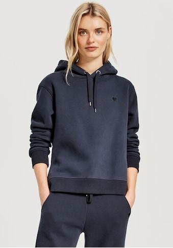 OPUS Kapuzensweatshirt »Gadira«, mit Herzstickerei kaufen
