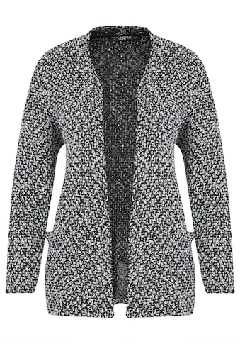 VIA APPIA DUE Modischer Cardigan mit Strukturmuster Plus Size kaufen
