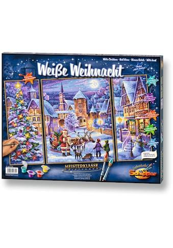 Schipper Malen nach Zahlen »Meisterklasse Triptychon Weiße Weihnacht«, Made in Germany kaufen