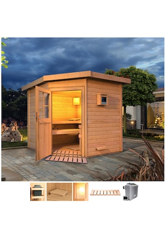 Karibu Saunahaus »Tore«, 9-kW-Ofen mit ext. Steuerung kaufen