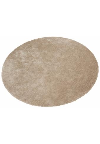 Hochflor - Teppich, »Dana«, Bruno Banani, rund, Höhe 30 mm, maschinell gewebt kaufen