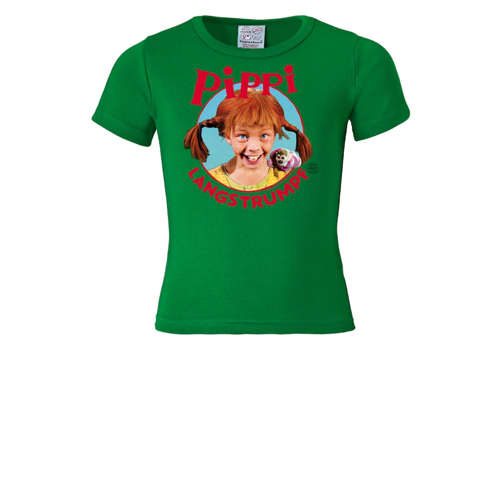 LOGOSHIRT T-Shirt, mit coolem Pippi Langstrumpf-Print