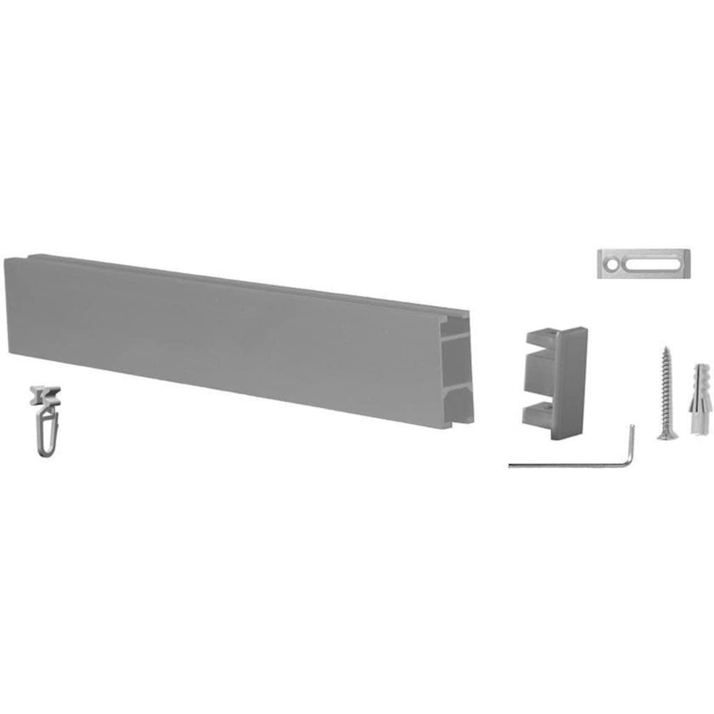 indeko Innenlaufschiene »Bern«, 1 läufig-läufig, Wunschmaßlänge