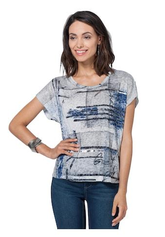 Ambria Shirt in dezent transparenter Ausbrenner - Qualität kaufen