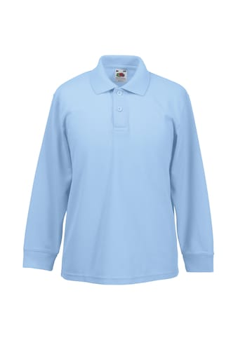 Fruit of the Loom Poloshirt »Kinder Polo Shirt, Langarm« kaufen