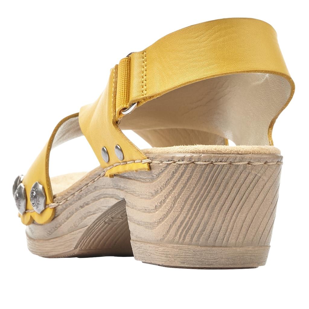 Rieker Sandalette, mit angesagten Nieten