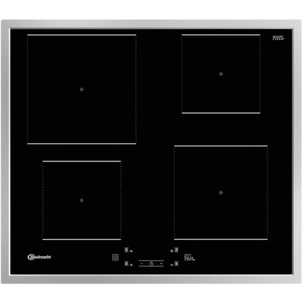 BAUKNECHT Backofen-Set »BAKO 800 PYRO IND«, BAR2 KP8V2 IN, mit 2-fach-Teleskopauszug, Pyrolyse-Selbstreinigung