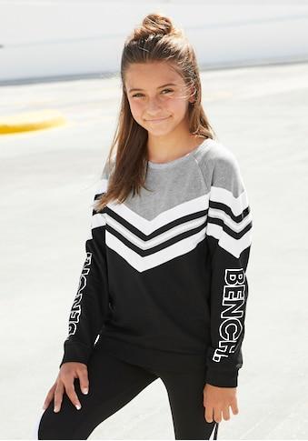 Bench. Sweatshirt, in weiter modischer Form kaufen