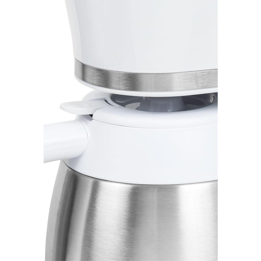 exquisit Filterkaffeemaschine »KA 6501 we«, Papierfilter, 1x4
