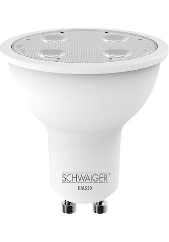 Schwaiger LED Lampe GU10 dimmbar -smarte LED- Glühbirne RGBW »Multicolor Lichtsystem« kaufen