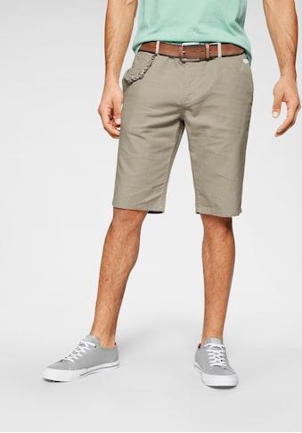 TOM TAILOR Shorts, mit Schlüsselkette kaufen