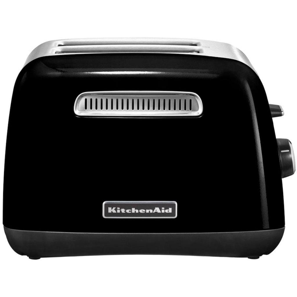 KitchenAid Toaster »5KMT2115EOB«, 2 kurze Schlitze, für 2 Scheiben, 240 W