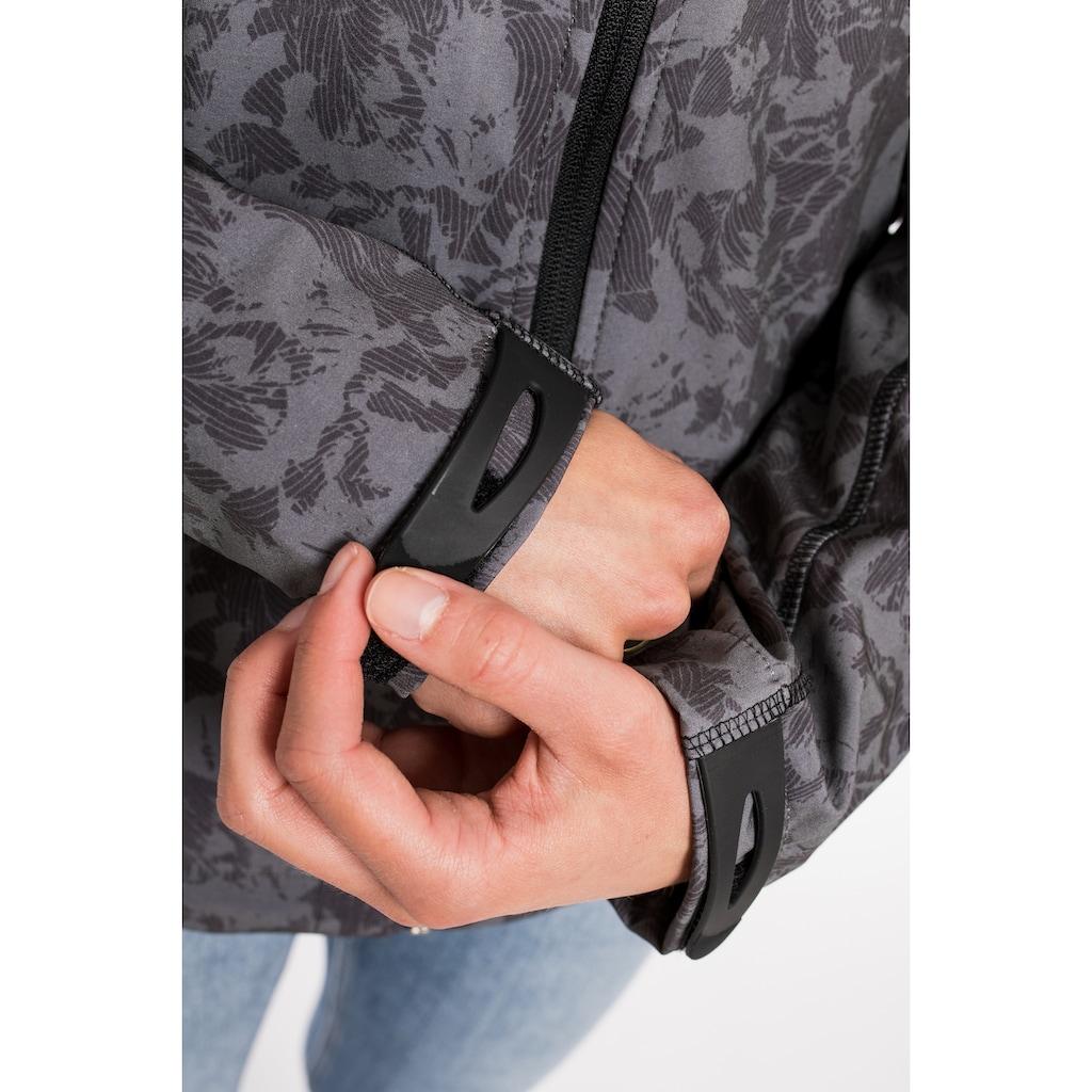 DEPROC Active Softshelljacke »SHELBY PEAK WOMEN«, mit abnehmbarer Kapuze