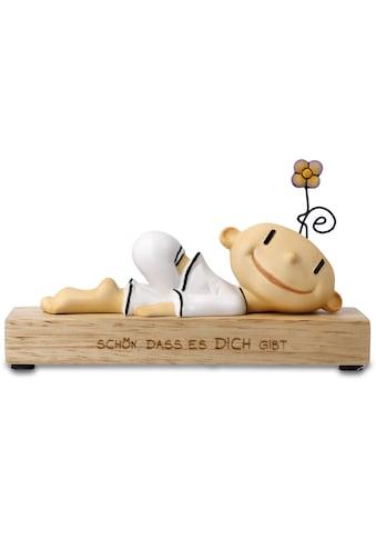 """Goebel Dekofigur »Figur Der kleine Yogi - """"Schön dass es dich gibt""""« kaufen"""