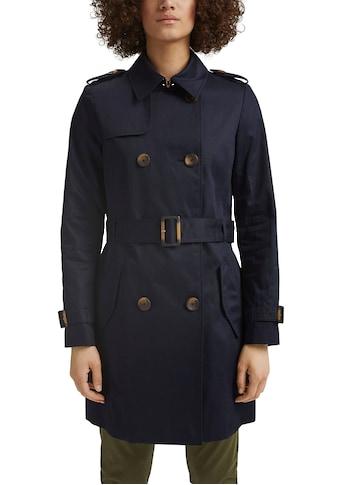 Esprit Trenchcoat, mit tollen Knopf-Details und Bindegürtel kaufen