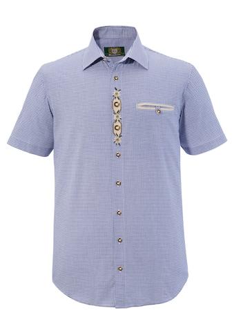 OS-Trachten Trachtenhemd, mit Edelweiß- Stickerei kaufen