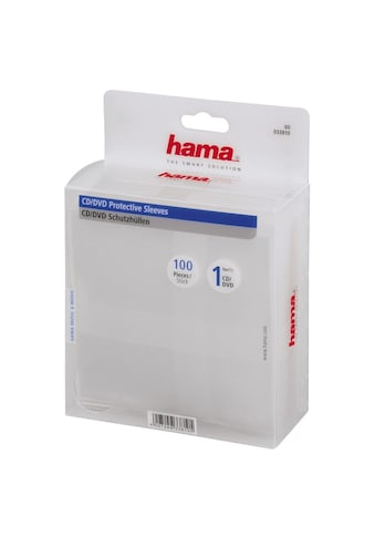 Hama DVD-Hülle, 100, Transparent kaufen