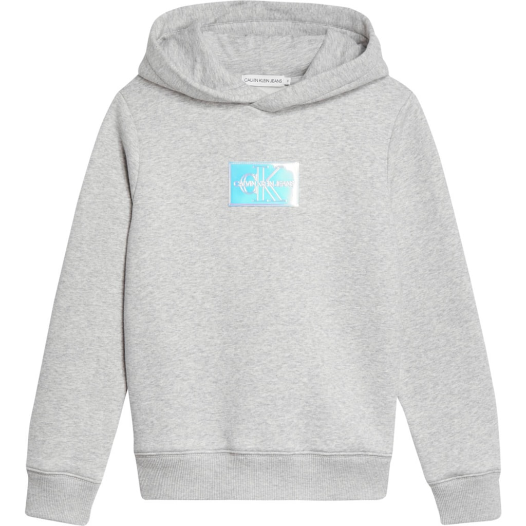 Calvin Klein Jeans Kapuzensweatshirt »MONOGRAM BADGE HOODIE«, mit Logo Label