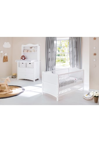 Pinolino® Babyzimmer-Komplettset »Florentina«, (Set, 3 St.), breit mit Regalaufsatz;... kaufen