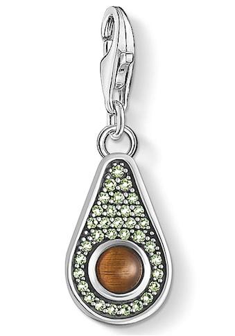 THOMAS SABO Charm-Einhänger »Avocado, 1836-667-7«, mit Tigerauge und Glassteinen kaufen