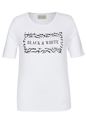 "VIA APPIA Stylisches T-Shirt ""Black & White"" kaufen"