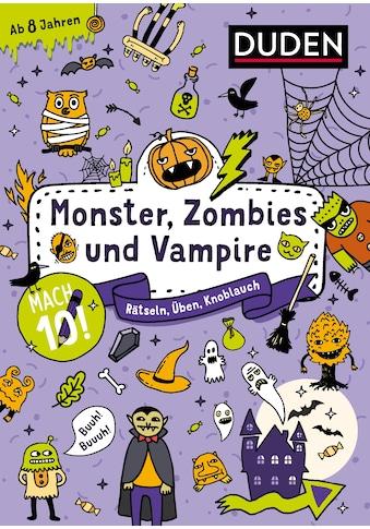 Buch »Mach 10! Monster, Zombies und Vampire - Ab 8 Jahren / DIVERSE« kaufen