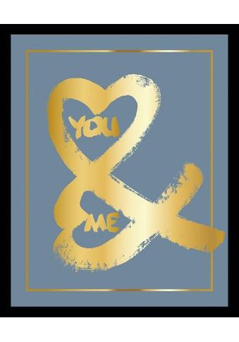 G&C Bild »YOU & ME II BLUE« kaufen