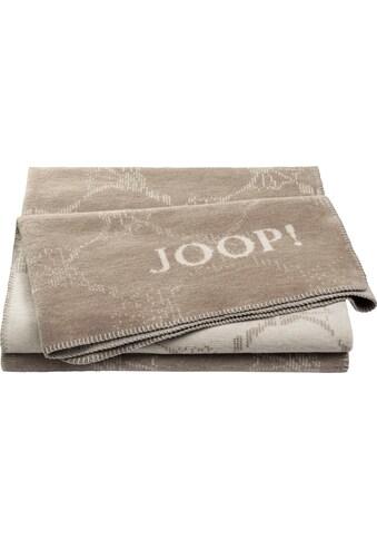 Joop! Wohndecke »JOOP! CORNFLOWER DOUBLE«, mit elegantem Kornblumen-Verlauf kaufen