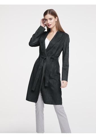 Mantel in Lederoptik kaufen