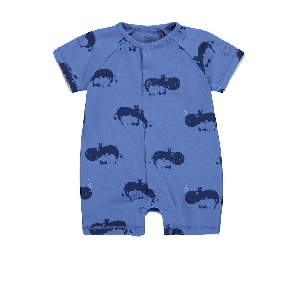Bellybutton Overall kurz mit Hippos