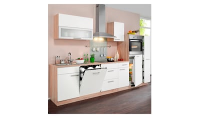 wiho Küchen Küchenzeile »Montana«, mit E - Geräten, Breite 300 cm kaufen