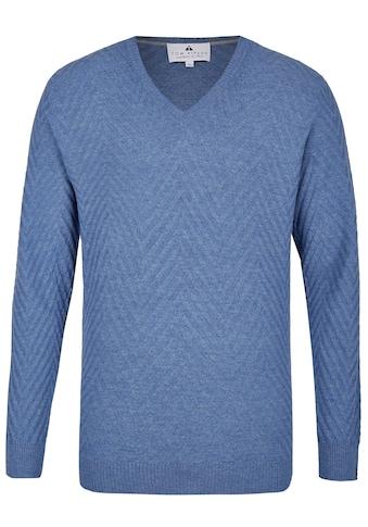Hajo Pullover mit V - Ausschnitt kaufen