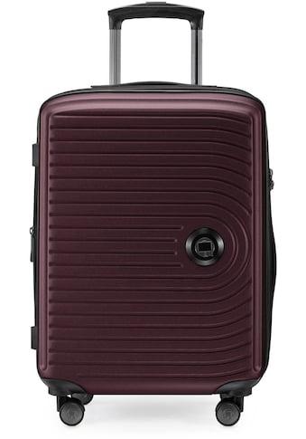 Hauptstadtkoffer Hartschalen-Trolley »Mitte, 55 cm, burgund«, 4 Rollen kaufen