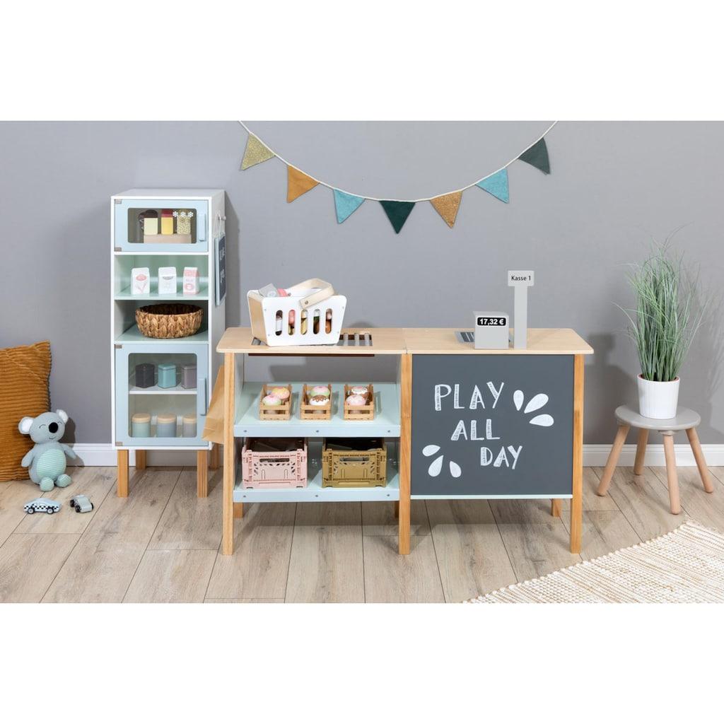 MUSTERKIND® Kaufladen »Cassia, weiß/natur/mint«