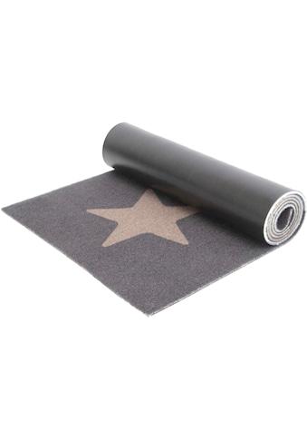 Primaflor-Ideen in Textil Küchenläufer »STARS«, rechteckig, 6,5 mm Höhe, Motiv Sterne,... kaufen