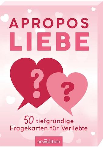 Buch »Apropos Liebe. 50 tiefgründige Fragekarten für Verliebte / DIVERSE« kaufen