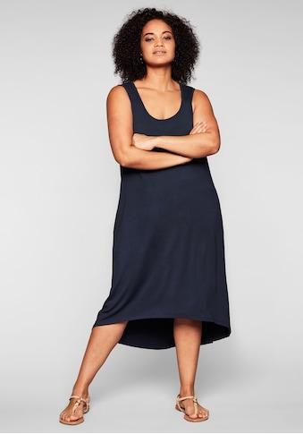 Sheego Strandkleid, mit Taschen, im Vokuhilaschnitt kaufen