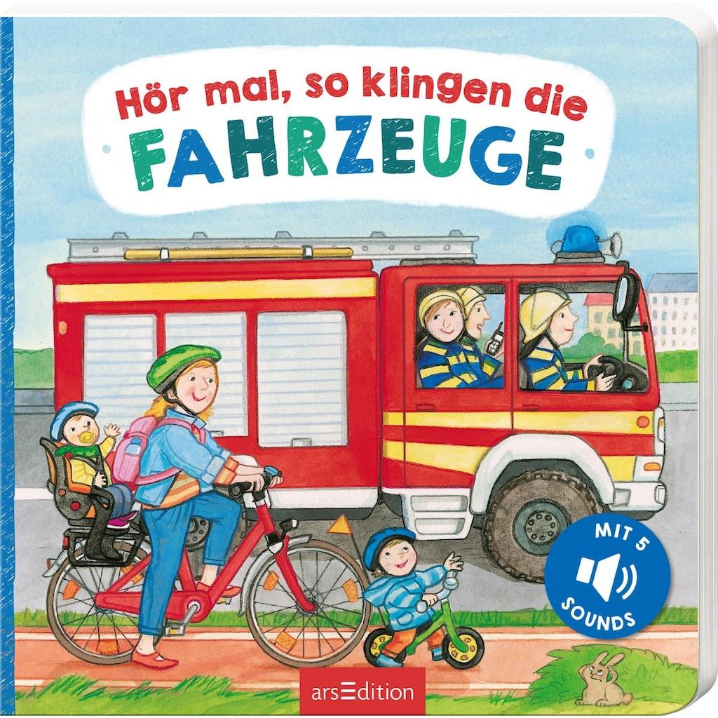 Buch »Hör mal, so klingen die Fahrzeuge / Martina Kohl, Lea-Marie Erl«