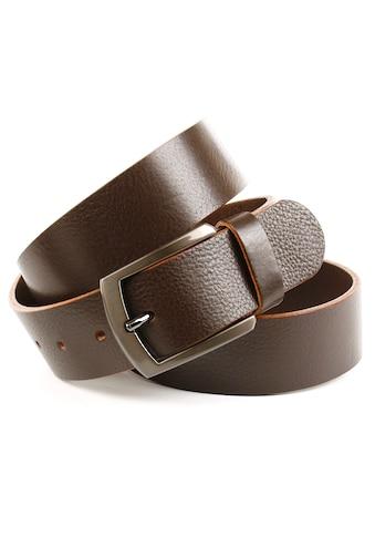 Anthoni Crown Ledergürtel, mit glänzender Dornschließe kaufen