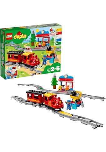 """LEGO® Konstruktionsspielsteine """"Dampfeisenbahn (10874), LEGO® DUPLO® Town"""", (59 - tlg.) kaufen"""