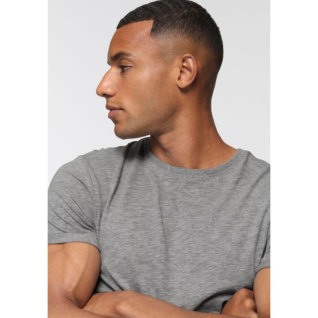 edc by Esprit T-Shirt, mit Rundhalsausschnitt