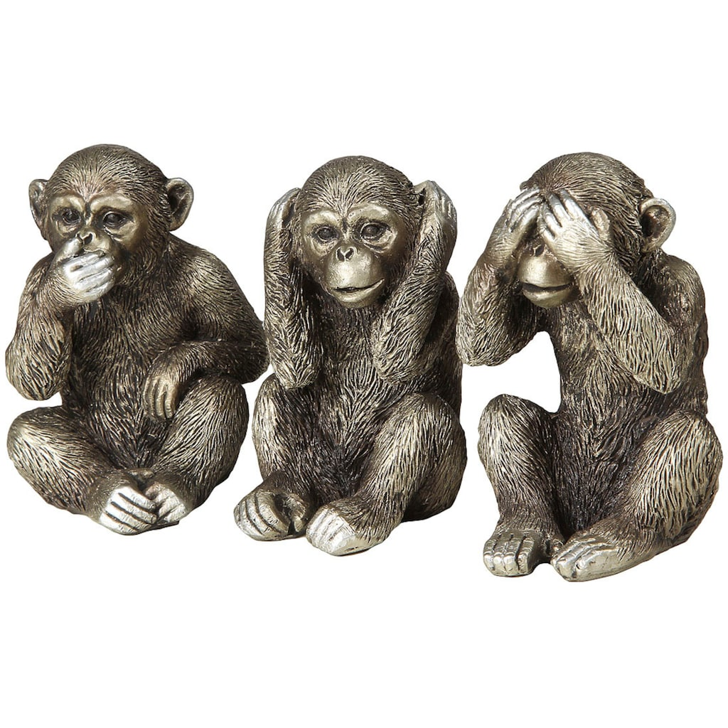 Ambiente Haus Dekofigur »3 Affen Set«