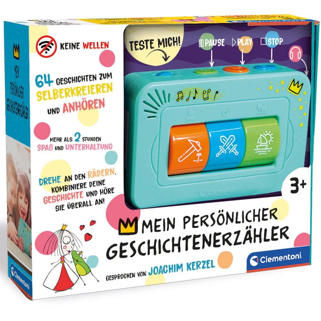 Clementoni® Lernspielzeug »Clementoni Baby - Mein persönlicher Geschichten-Erzähler«, mit 64 Geschichten; Made in Europe